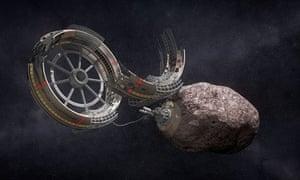 Asteroid-hunting spacecraft