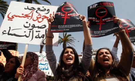 Amina Filali protest