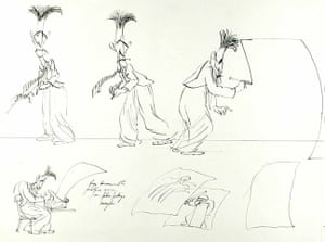 Orwell by Steadman: Sketches of Orwell.