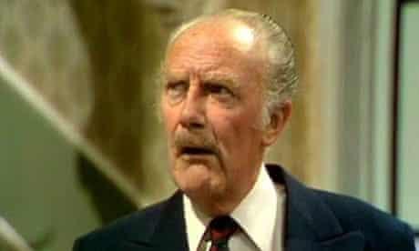 Major Gowen: Fawlty Towers's resident bigot.
