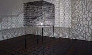 Conrad Shawcross's Slow Arc Inside a Cube IV