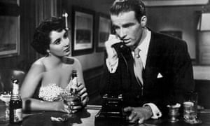 Elizabeth Taylor and Montgomery Clift in A Place In The Sun