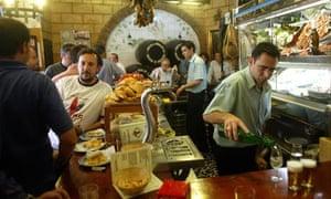 Tapas bar, Spain