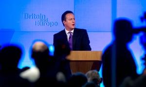 British Prime Minister David Cameron del