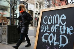 us cold snap: new york