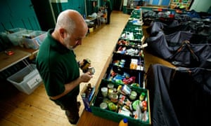 The Queen's Road Baptist Church food bank in Coventry
