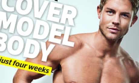 Men's Fitness Cover Model Body Plan