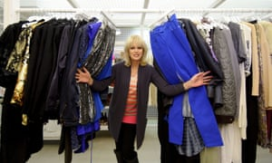 Joanna Lumley opens the Shwop Shop in London today, a collaboration with Oxfam at M&S's flagship Marble Arch store. The project encourages shoppers to bring in unwanted items of clothing to be resold or recycled.
