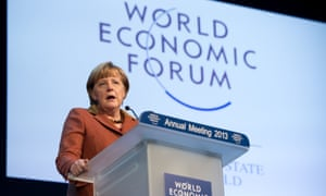 German Chancellor Angela Merkel says it is too early to give the 'all clear' for the eurozone crisis.