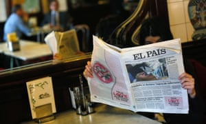 The Spanish newspaper El Pais has had to withdraw early editions that carried what turned out to be a 'false photo of Hugo Chavez'. The grainy picture that El Pais originally splashed on its front page, billed as a global exclusive, portrayed the head of a man lying down with a breathing tube in his mouth and was thought to be of the Venezuelan president receiving treatment for cancer in Cuba. Read more on the story.