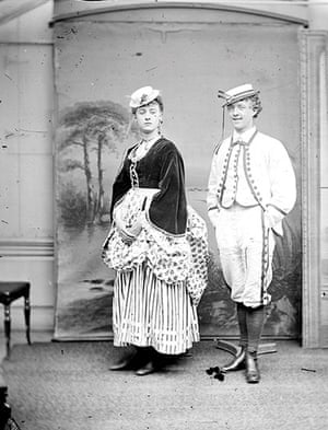 Fanny and Stella: Stella and Charles Pavitt on tour in Essex in 1869