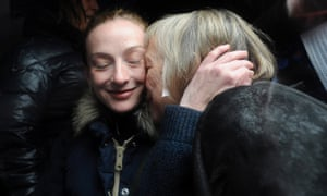 Florence Cassez, left, is welcomed in Paris by her mother following her release from a 60-year jail sentence in Mexico. The Mexican Supreme Court  ordered her immediate release ruling that her conviction for kidnapping was tainted and ending a seven-year imprisonment that had strained relations with France.