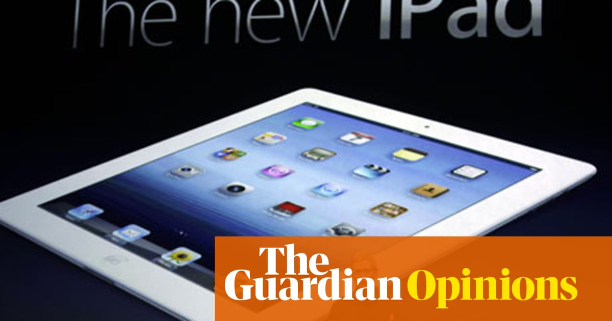 Come on Apple, think different | Heidi Moore | Technology