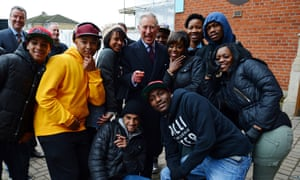 Prince Charles enjoys a jolly day out meeting young people who take part in The Prince's Trust activities during a visit to Surrey County Cricket Club at the Kia Oval in Kennington, London.