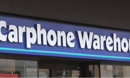 Carphone Warehouse beats predictions with 16% rise in UK revenue