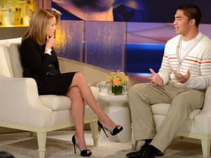 Manti Te'o speaks to Katie Couric.