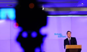Cameron speech on Europe