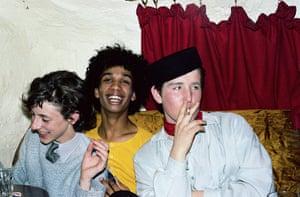 Blitz kids at Bowie Night: Blitz kids at Bowie Night