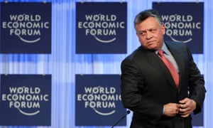 Jordan's King Abdullah warned that the world has until the end of 2016 to agree a two-state solution for Israel.