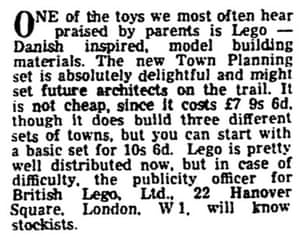 A look back at Lego: f...