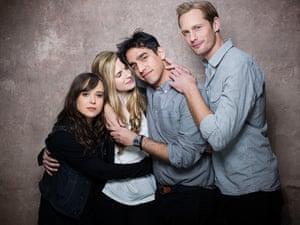 Victoria Wills Sundance: Ellen Page, Brit Marling, Zal Batmanglij, Alexander Skarsgard