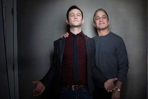Victoria Wills Sundance: Joseph Gordon-Levitt, left, and Tony Danza
