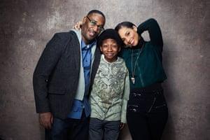 Victoria Wills Sundance: George Tillman Jr., Skylan Brooks, Alicia Keys