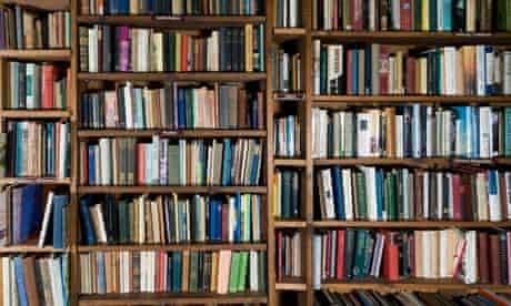 Books On Shelf In Bookshop