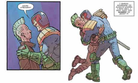 Judge Dredd comic