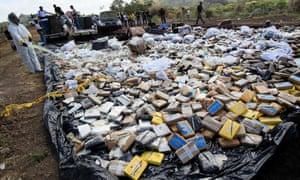 Drug haul in Panama