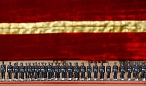 20 Photos: Soldiers at reception for Bhutan's King Jigme Khesar Namgyel Wangchuck