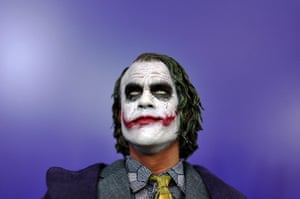 20 Photos: A model of The Joker is displayed at the London Toy Fair