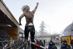 Femen: 43rd Annual Meeting of the World Economic Forum