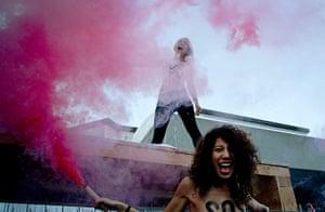 Femen: Activists of the Women's Movement FEMEN