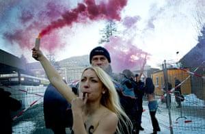 Femen: Activists from the Ukrainian feminist group FEMEN