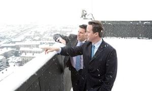 Sebastian Coe and David Cameron