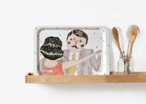 Simple things: Dancers tea tray