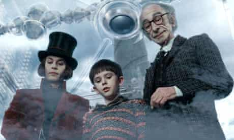 Film still from Charlie and the Chocolate Factory
