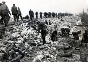 Floods 1953: East Coast Floods -  Canvey Island, Essex, Britain  - 1953.