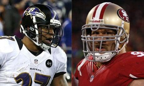 eeedbf049 Super Bowl XLVII  Baltimore Ravens vs San Francisco 49ers  key ...