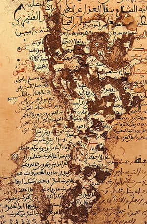 Ahmed Baba Institute  Manuscript by the prophet called      Muslim       dating back to