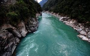 Yunnan Nujiang river: CHINA-YUNNAN-NUJIANG RIVER-SPRING LANDSCAPE (CN)