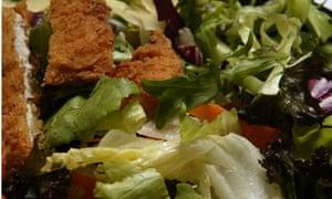McDonald's crispy chicken salad