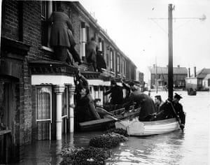 Floods 1953:  East Coast of England