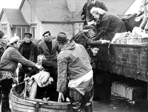 Floods 1953: Canvey Island rescues