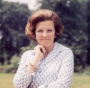 Queen Beatrix: Princess Beatrix in the grounds of Drakensteyn, 15 June 1975