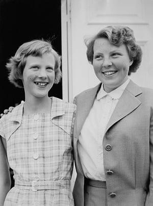 Queen Beatrix: Princess Margrethe and Princess Beatrix