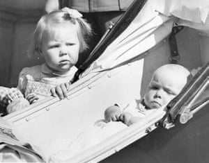 Queen Beatrix: Princess Beatrix with her sister Princess Irene