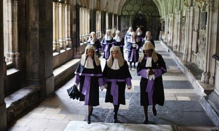 Judges Attend The Annual Service At Westminster Abbey