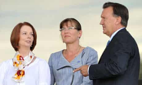 Julia Gillard and Tim Mathieson